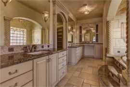 grand master bathroom of a Colorado luxury property