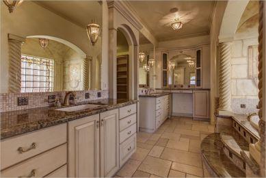 grand master bathroom of a Colorado luxury property