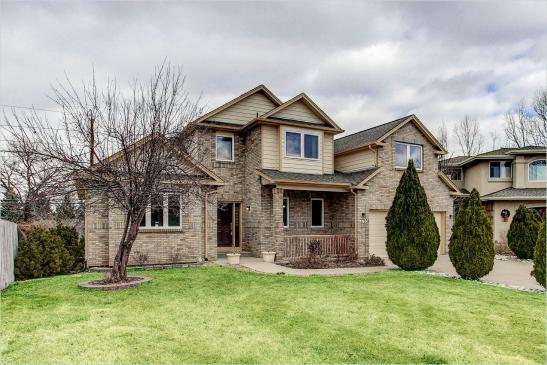 a multi-level home for sale